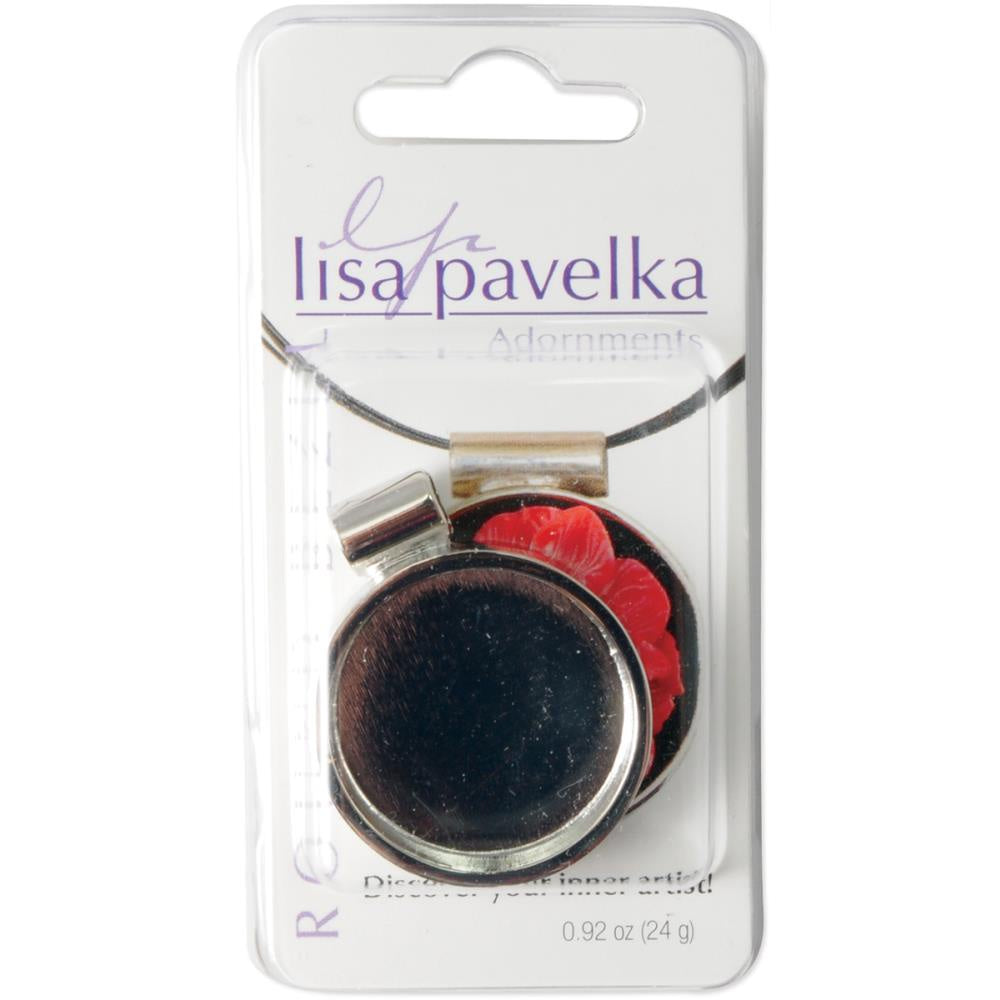 Lisa Pavelka Silver-Plated Bezel - Round