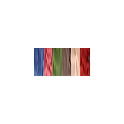 Clubhouse Crafts Elastic Cord - Colorful Thick - 4yd Each Of 6 Colors