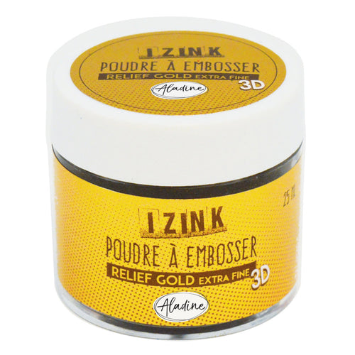 Aladine - EMBOSSING POWDER 25 ML - GOLD