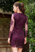 Women's Tulle Purple Dress - Eva Secret