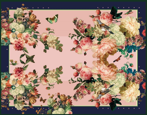 Peonies Placemat Shop Now