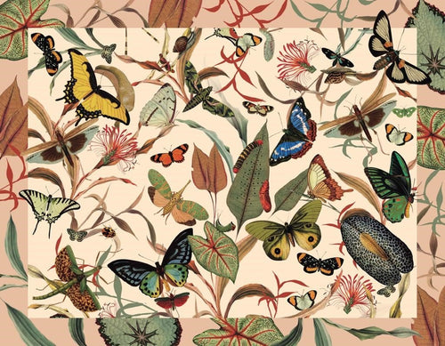 Individuales Mariposas Ivory Placemat Shop Now