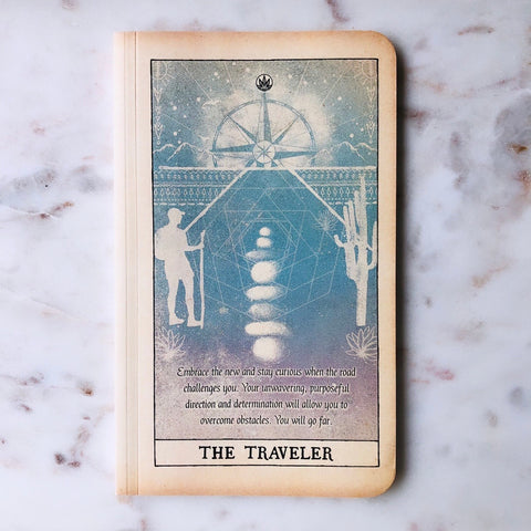 Tarot Journal THE TRAVELER