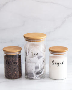 Coffee, Tea & Sugar Set
