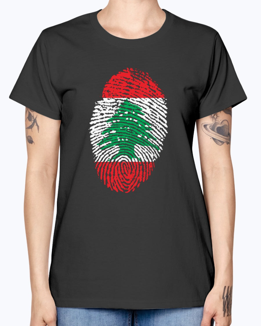 Ladies Missy T Lebanese Fingerprint