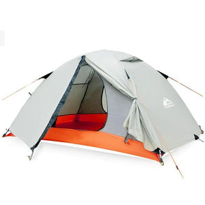 CHENNO 2 Person Waterproof Camping Tents For Outdoor Recreation  Double Layer 4 Seasons Hiking Fishing Beach Tourist Tents