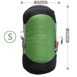 CHENNO Dry Bag Compression Stuffs Sack Green Sleeping Laundry Travel Camping Waterproof Storage Pack Adjustable Useful Bag Pack