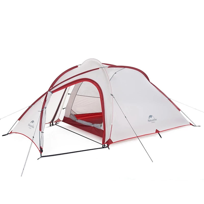 CHENNO Hiby Series Family Tent 20D/210T Ultralight Fabric For 3-4 Person With Mat
