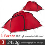 Load image into Gallery viewer, CHENNO Hiby Series Family Tent 20D/210T Ultralight Fabric For 3-4 Person With Mat