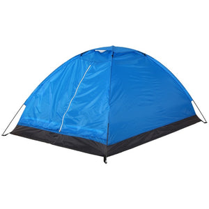 CHENNO 2 Persons Waterproof Camping Tent PU1000mm Polyester Fabric Single Layer Tent for Outdoor Travel Hiking 200*130*110cm