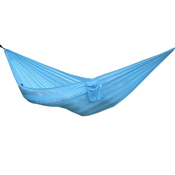 CHENNO Breathable Mesh Hammock With Ice Soft Widen Farbic Outdoor Swing Hangmat 230*160cm