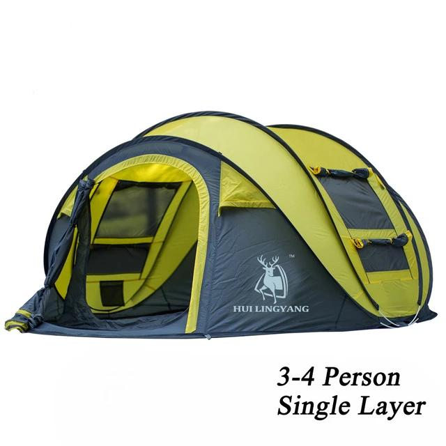 CHENNO throw tent outdoor automatic tents throwing pop up waterproof camping hiking tent waterproof large family tents