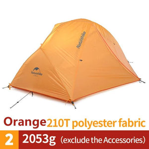 CHENNO  Camping Tent Upgraded Ultralight 2 Person 4 Season Tent With Free Mat NH17T012-T