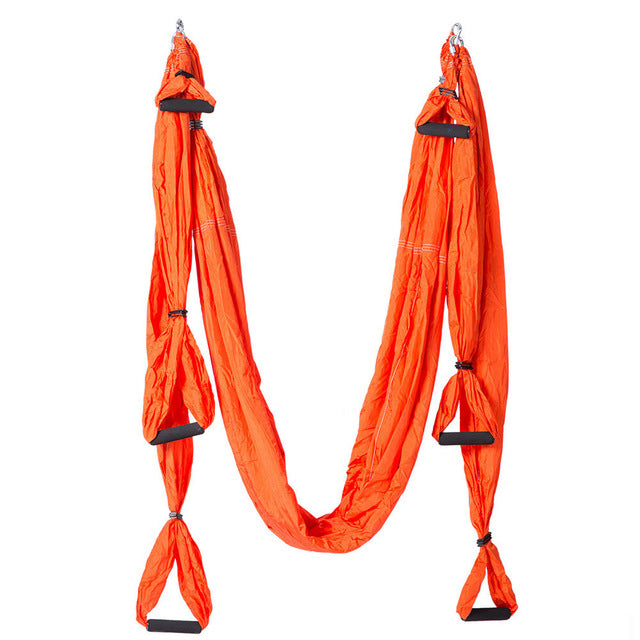 CHENNO Aerial Yoga Swing Flying Hammock Anti-Gravity 6 Hand Grip Hanging Chair Ultra Strong Sling For Antigravity Inversion Fitness