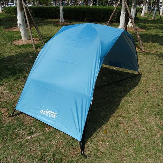 CHENNO Lightweight Portable Sun Shelter Beach Tent Summer Outdoor Garden Sun Awning Sun Shade Canopy Easy Setup Camping Fishing Hiking