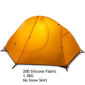 CHENNO Cycling Backpack Tent Ultralight 20D/210T For 1-2 Person