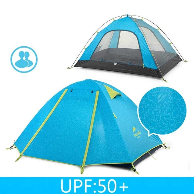 CHENNO P Series Classic Camping Tent 210T Fabric For 2 Persons