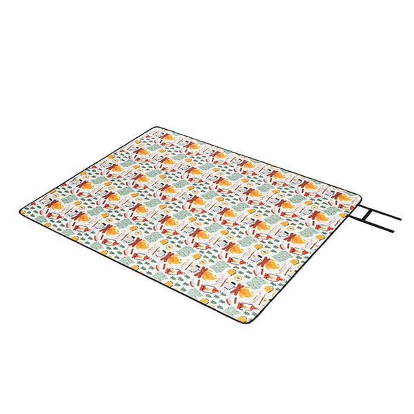 CHENNO Outdoor Picnic Mat Water-resistant Portable Beach Mat Folding Camping Mat 660g Moisture-proof Blanket