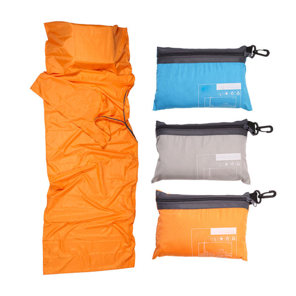 CHENNO Ultralight Outdoor Sleeping Bag Liner Polyester Pongee Portable Single Sleeping Bags Camping Travel Healthy Outdoor Sleeping Bag
