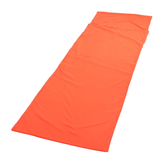 CHENNO Outdoor Sleeping Bag Liner Polyester Pongee Portable Single Sleeping Bags Camping Travel Sleep Bag new