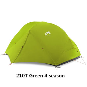 CHENNO 2 Person Camping Tent Lightweight Outdoor Backpacking Tent with Footprint, Waterproof and Easy Setup (3 Season, 4 Season)