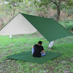 Load image into Gallery viewer, CHENNO Waterproof Sun Shelter Awning Tent Tarp 3x3m Outdoor Camping Hammock Rain Fly Anti UV Beach Tent Shade Camping Sunshade Canopy