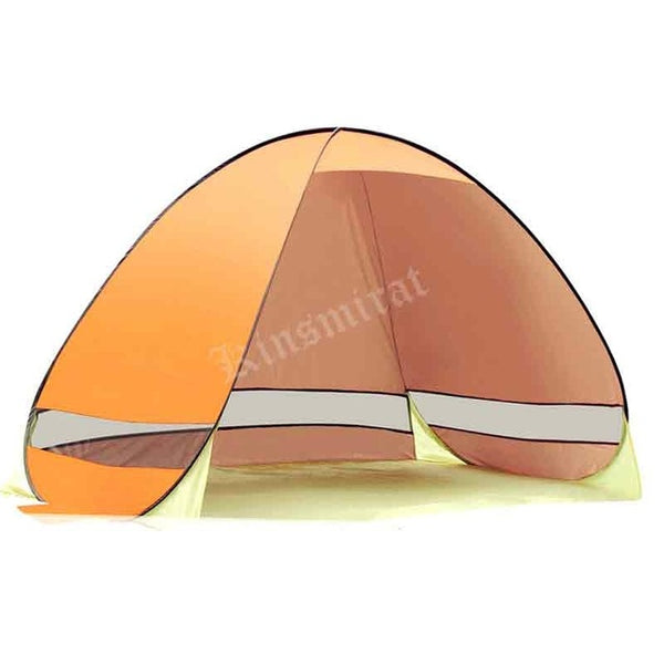 CHENNO Beach Tent Sun Shelter 3-4 Person UV Sun Protection of UPF 50+ & Waterproof Camping Tent Easy Set Up Tent for Outdoor