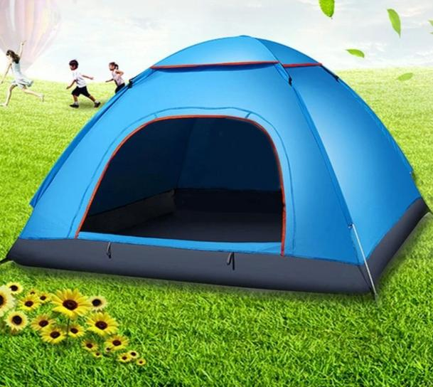 CHENNO Waterproof 2-3 Person Portable Outdoor Foldable Tent Automatic Instant Open Camping Hiking Fishing Travel Tent Anti UV Sun Shade