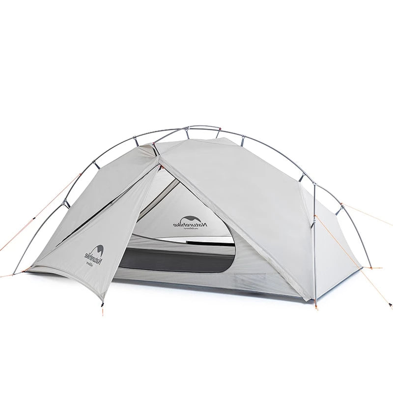 CHENNO VIK Series 970g Ultralight Single Tent 15D Nylon Waterproof Camping Tent Single-layer Outdoor Hiking Tent
