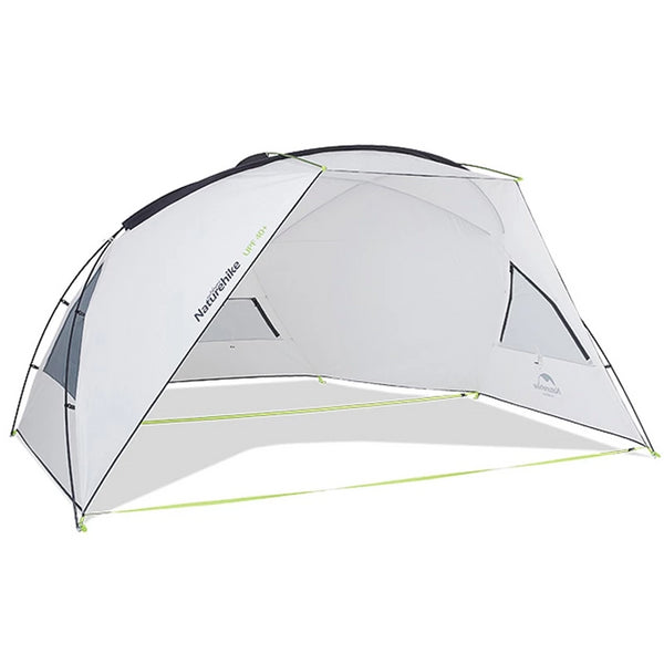 CHENNO Gnie Beach Tarp With Poles Outdoor Camping Tent Sun Shelter Awning UPF40