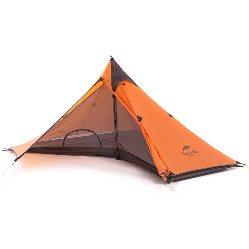 CHENNO Minaret Hiking Tent Ultra-light Camping Tents For One Person With Mat