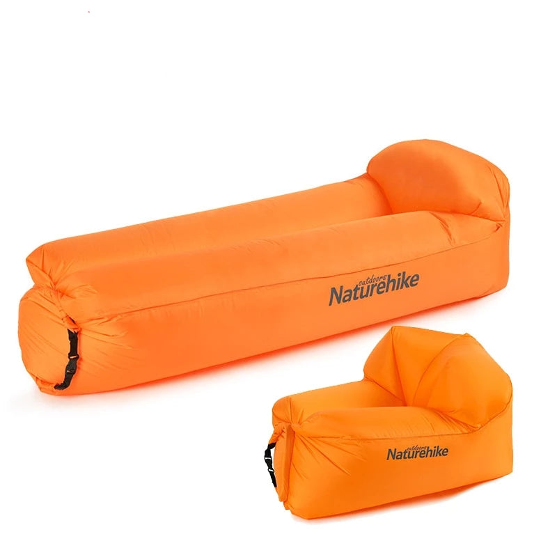 CHENNO Outdoor Portable Waterproof Inflatable Air Sofa Camping Beach Sofa Foldable Lounger
