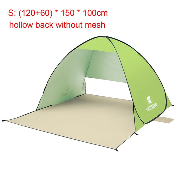 CHENNO Automatic Camping Tent Ship From RU Beach Tent 2 Persons Tent Instant Pop Up Open Anti UV Awning Tents Outdoor Sunshelter