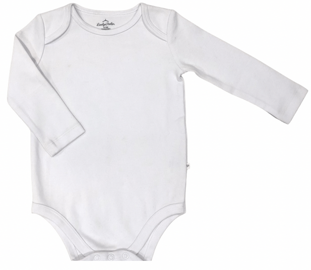 Organic Cotton White Bodysuit