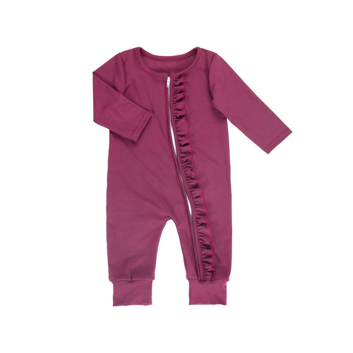 Girls' Plum Bamboo Lounger