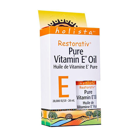 Holista Pure Vitamin E Oil - 28000 IU/UI, 28ml