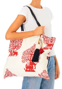 Talisa Tote Bag - Red