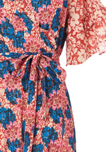 Load image into Gallery viewer, flower wrap dress