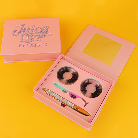 Plush Deluxe Eyelash Book