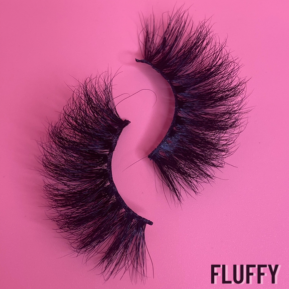 """Fluffy"" Lashes"