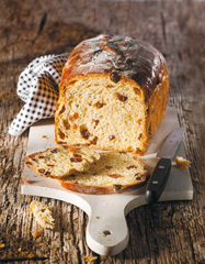 Heavenly bread: Cramique loaf