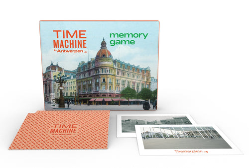 Time Machine Antwerpen - memoryspel / memory game