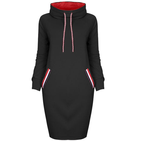 'Anna Mae' Sweatshirt Midi Dress