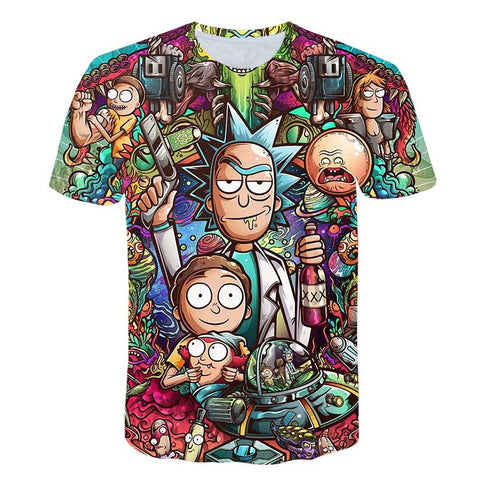 'Relentless' Rick and Morty Unisex T-Shirt