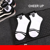 'Just for Laughs' Printed Ankle Socks