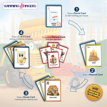 Load image into Gallery viewer, Winning Fingers Construction Race Family Card Game