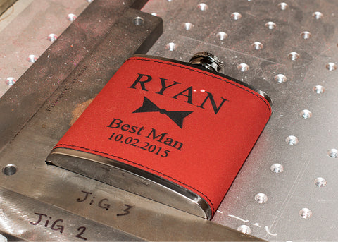 Hip Flask Engraving Process