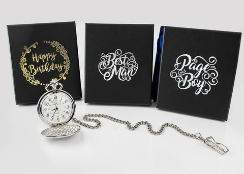 Gift boxed pocket watch