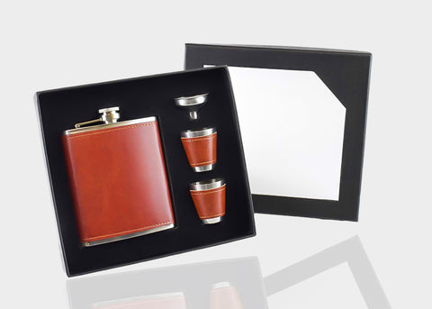 Gift Set Hip Flask