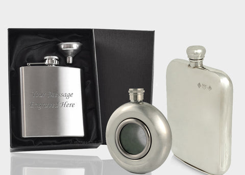 Traditional Hip Flasks